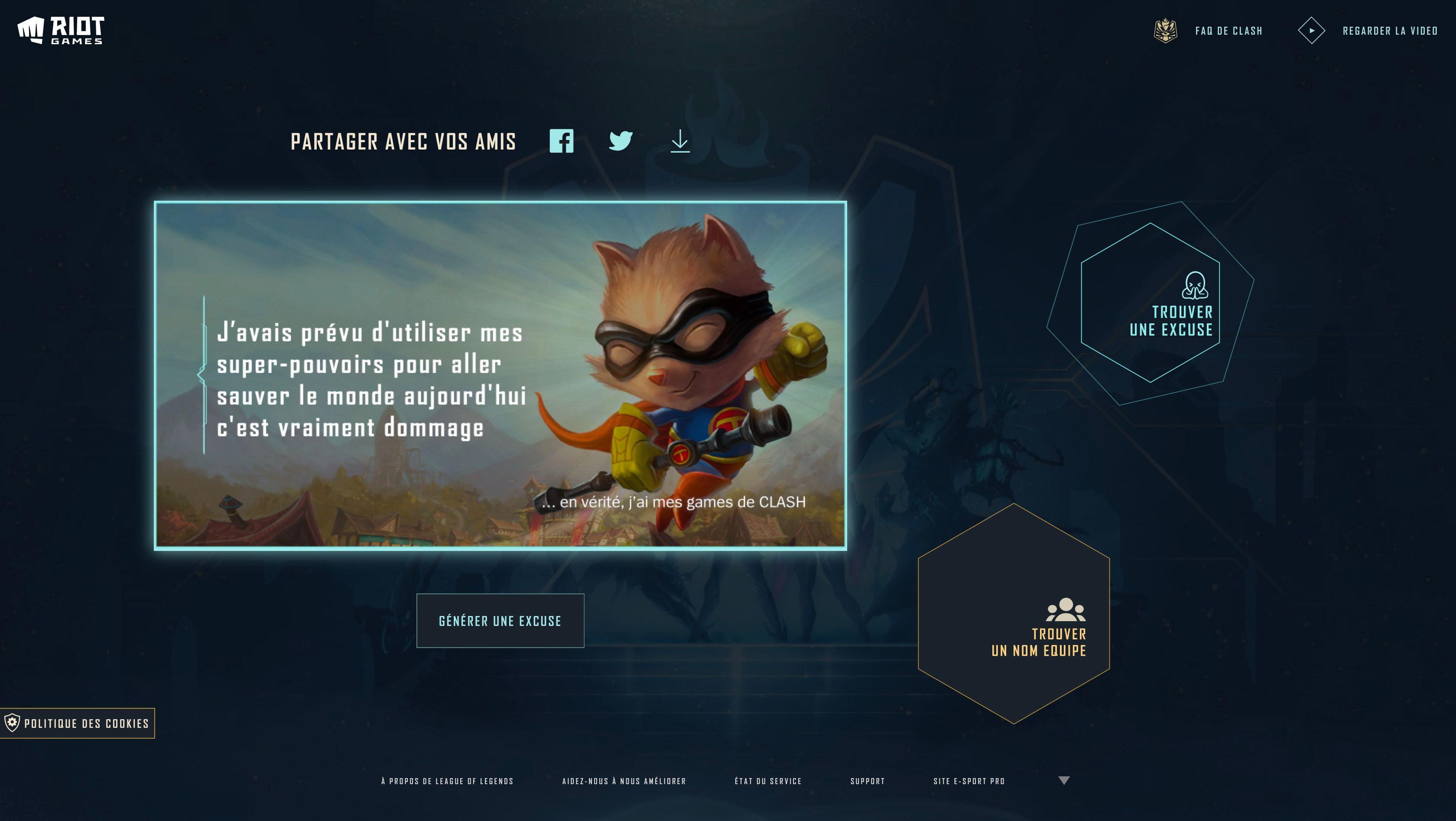 Desktop image of Ou générer une excuse pour geeker en paix